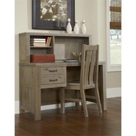 Rosebery Kids 2 Drawer Writing Desk with Hutch and Chair 2 Drawer Set Hutch