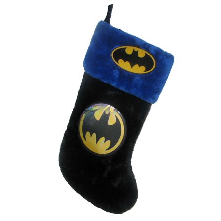 19 Inch Batman Emblem Christmas Stocking (Batman Christmas)