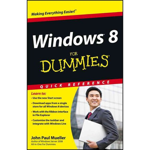 Windows 8 for Dummies: Quick Reference
