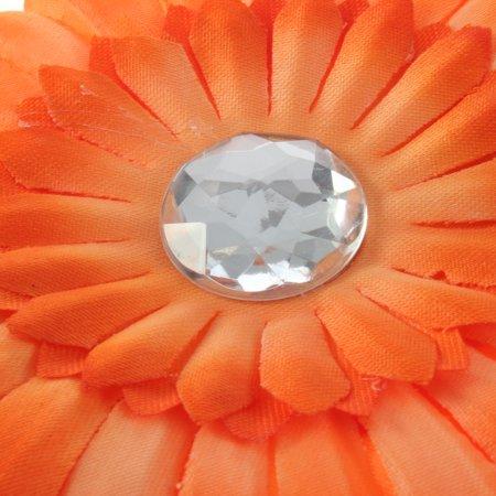 Best Baby Girl Crystal Daisy Peony Flower Hair Clip + Crochet Headband Hairwear deal