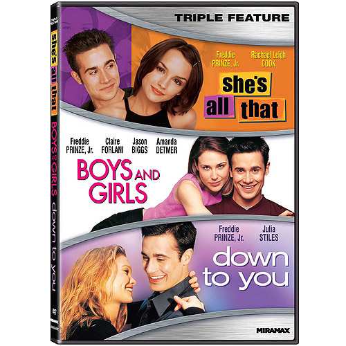 Freddie Prinze Jr. TF: She's All That / Boys And Girls / Down To You (Widescreen)