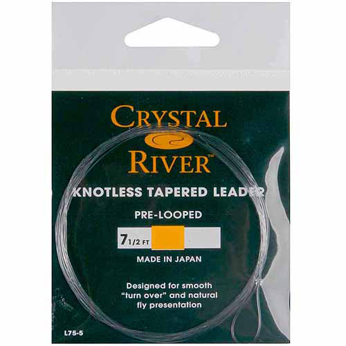 Crystal River Knotless Tapered Leader 7-1/2'