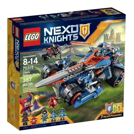 LEGO NexoKnights Clay's Rumble Blade 70315](Legos Wholesale)