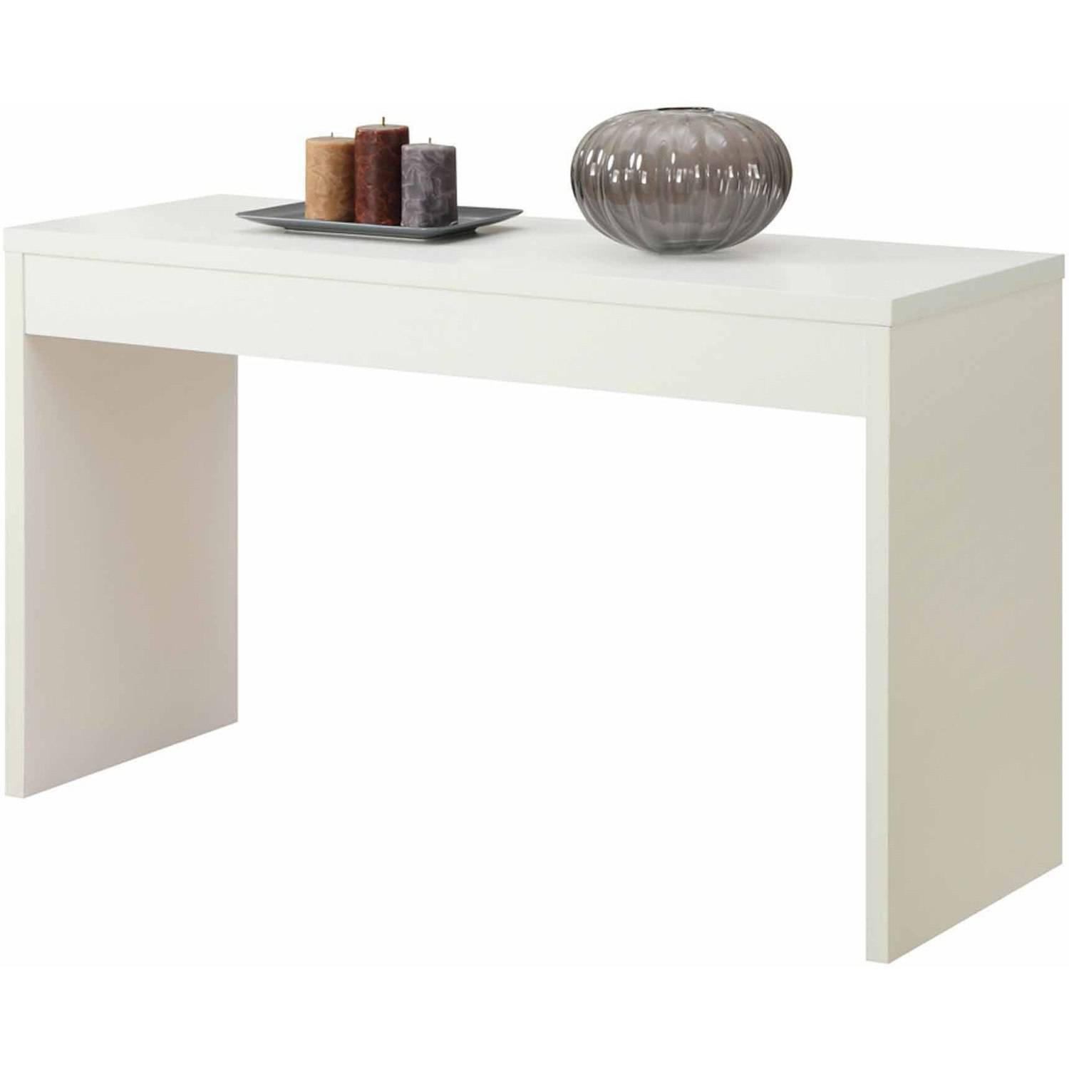 White Hallway Console Table convenience concepts northfield hallway console table, mutilple