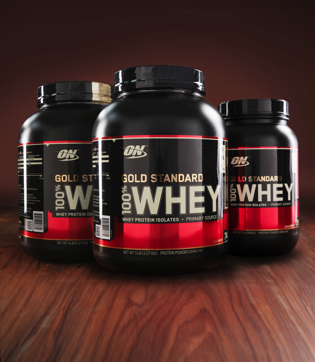 Optimum Nutrition Gold Standard 100 Whey Protein Powder Double Rich Chocolate 24g Protein 5 Lb
