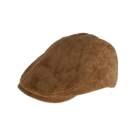 Men's Faux Suede Ivy Cap (Cap And Sunglasses)