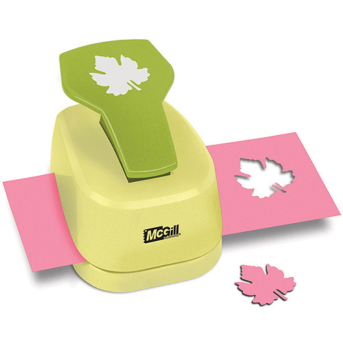 McGill Paper Blossoms Paper Punch, Grape Leaf