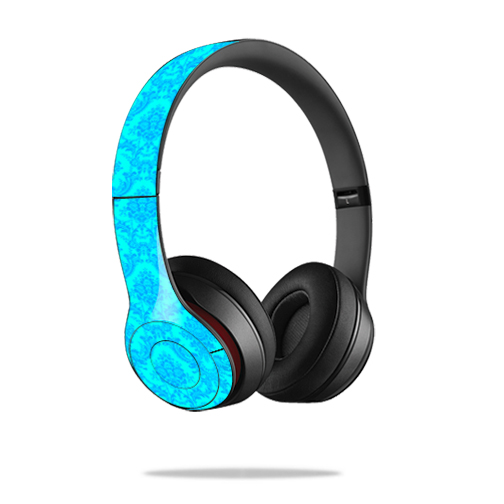 Skin Decal Wrap for Dr. Dre Beats Solo2 Headphones sticker Blue Vintage