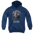 Law & Order SVU Team Big Boys Pullover Hoodie NAVY SM
