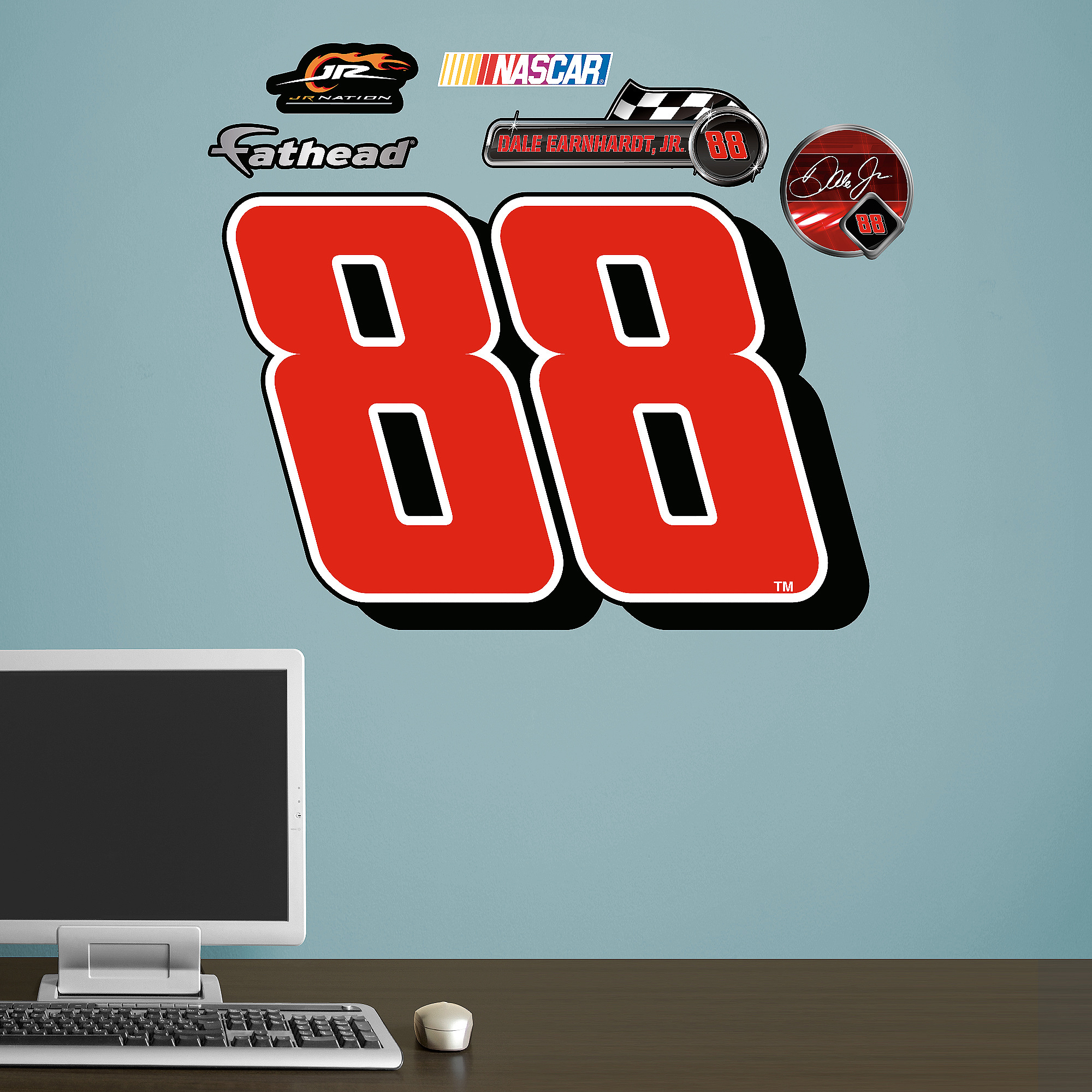 Dale Earnhardt Jr. #88 Logo Junior