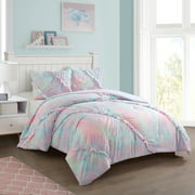 Heritage Club Emelie Ruffle Super Soft Comforter Set, Twin