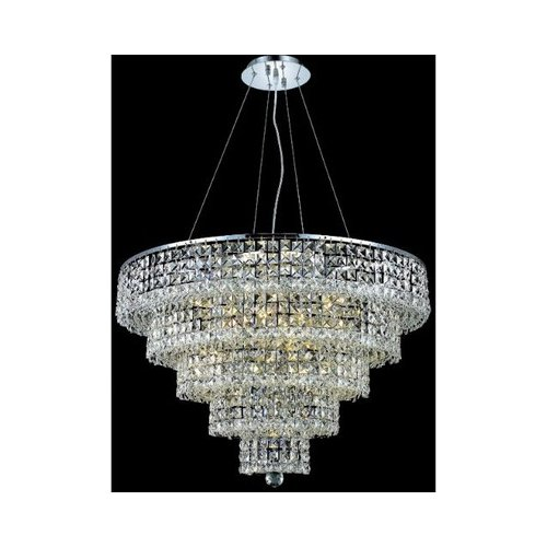 Elegant Lighting Maxim 17 Light Chandelier