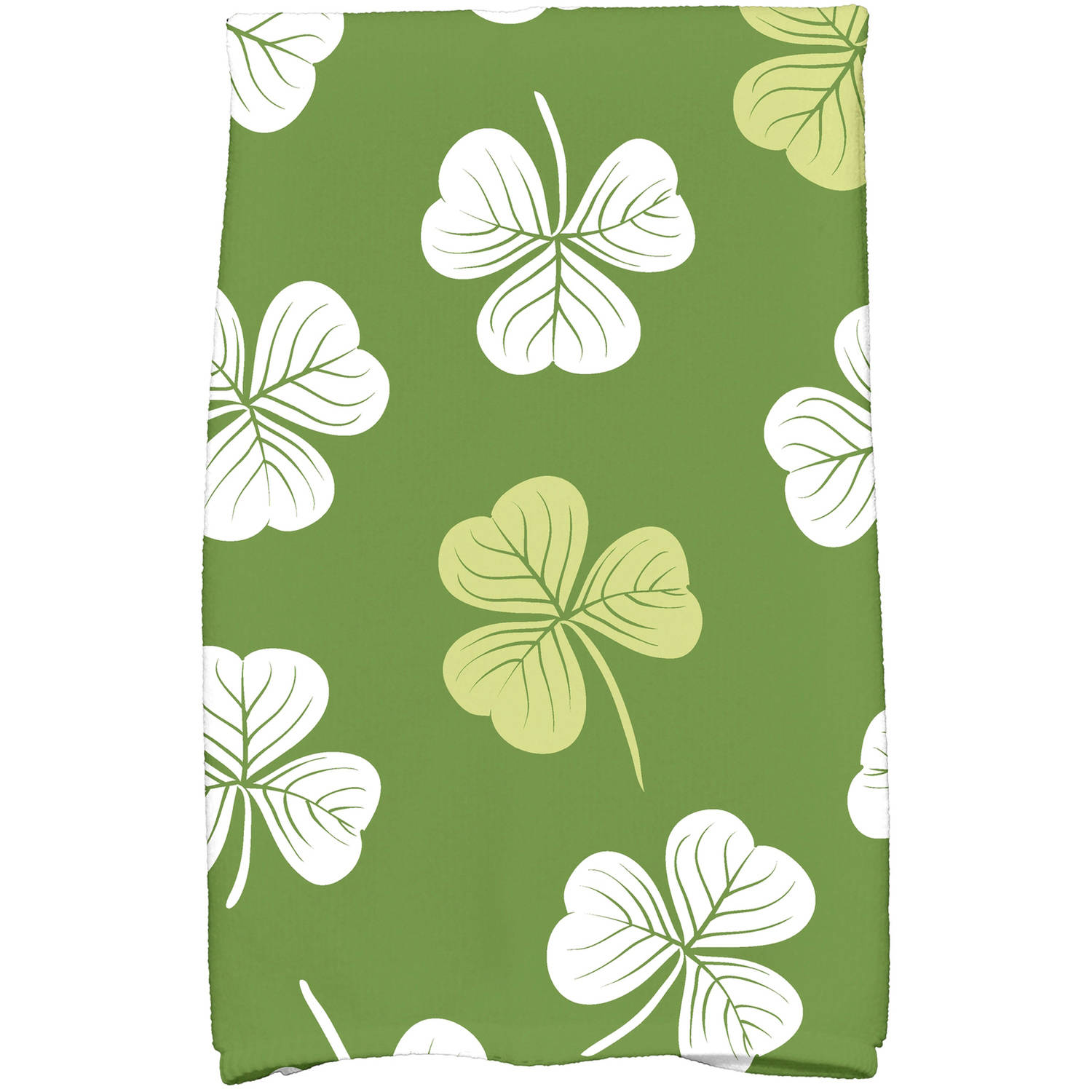 "Simply Daisy 16"" x 25"" Lucky Holiday Floral Print Kitchen Towel"