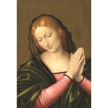 - Madonna (Postcard) Poster Print by Johann B Godron (5 x 6)