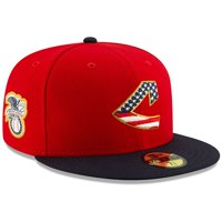 Cleveland Indians New Era 2019 Stars & Stripes 4th of July On-Field 59FIFTY Fitted Hat - Red/Navy