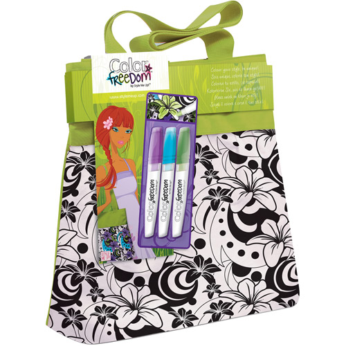 Style Me Up Color Freedom Large Tote Bag