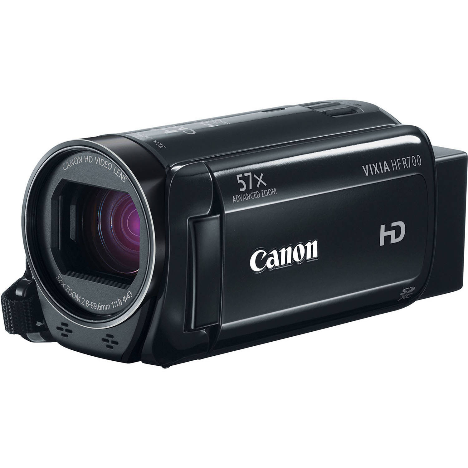 "Canon VIXIA HF R700 Camcorder with 32x Optical Zoom, 3"" LCD and Image Stabilization"