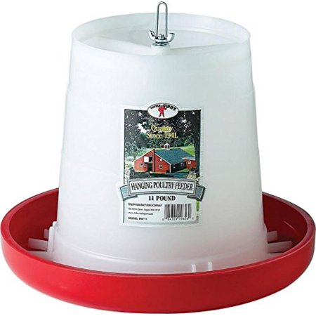 11 Lbs Plastic Hanging Poultry Feeder PHF11, These economy-priced durable plastic feeders are designed exclusively for the hobbyist By Little Giant ()