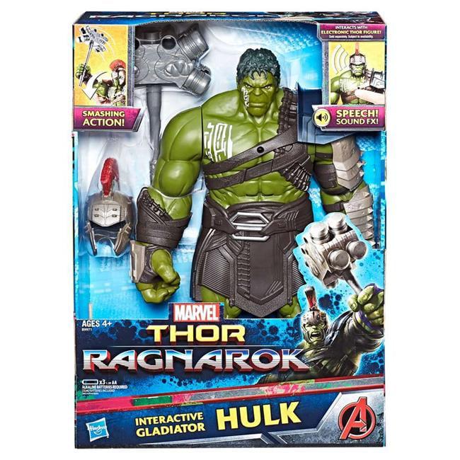 Hasbro HSBB9971 Marvel Thor Hulk Interactive Elec Fig Toys by Hasbro