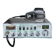 """Cobra Mobile CB Radio With Dynamike Gain Control And SWR Antenna Calibration And NightWatch"""" Illuminated Display With Dimmer Control"""