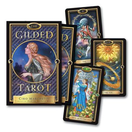 The Gilded Tarot (Other)](The Halloween Tarot Kipling West)