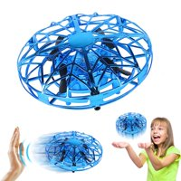 Amerteer Mini Drone for Kids Adults, Flying Ball Hand Controlled Quadcopter Light Up Flying Toys, UFO Flying Ball Drone Toys with 360Rotating Helicopter Outdoor Toys Holiday Birthday Gifts