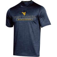 Men's Russell Athletic Navy West Virginia Mountaineers Synthetic Impact T-Shirt