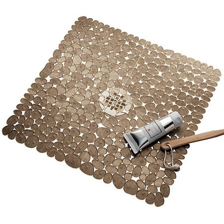 InterDesign Pebblz Square Shower Mat (Best Bath Mats For Elderly)