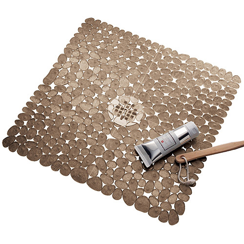 InterDesign Pebblz Square Shower Mat