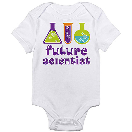 CafePress Newborn Baby Future Scientist Bodysuit
