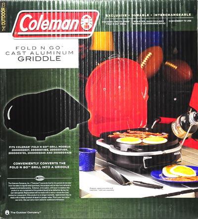 Coleman Fold N Go Cast Aluminium Griddle Aluminum Griddle
