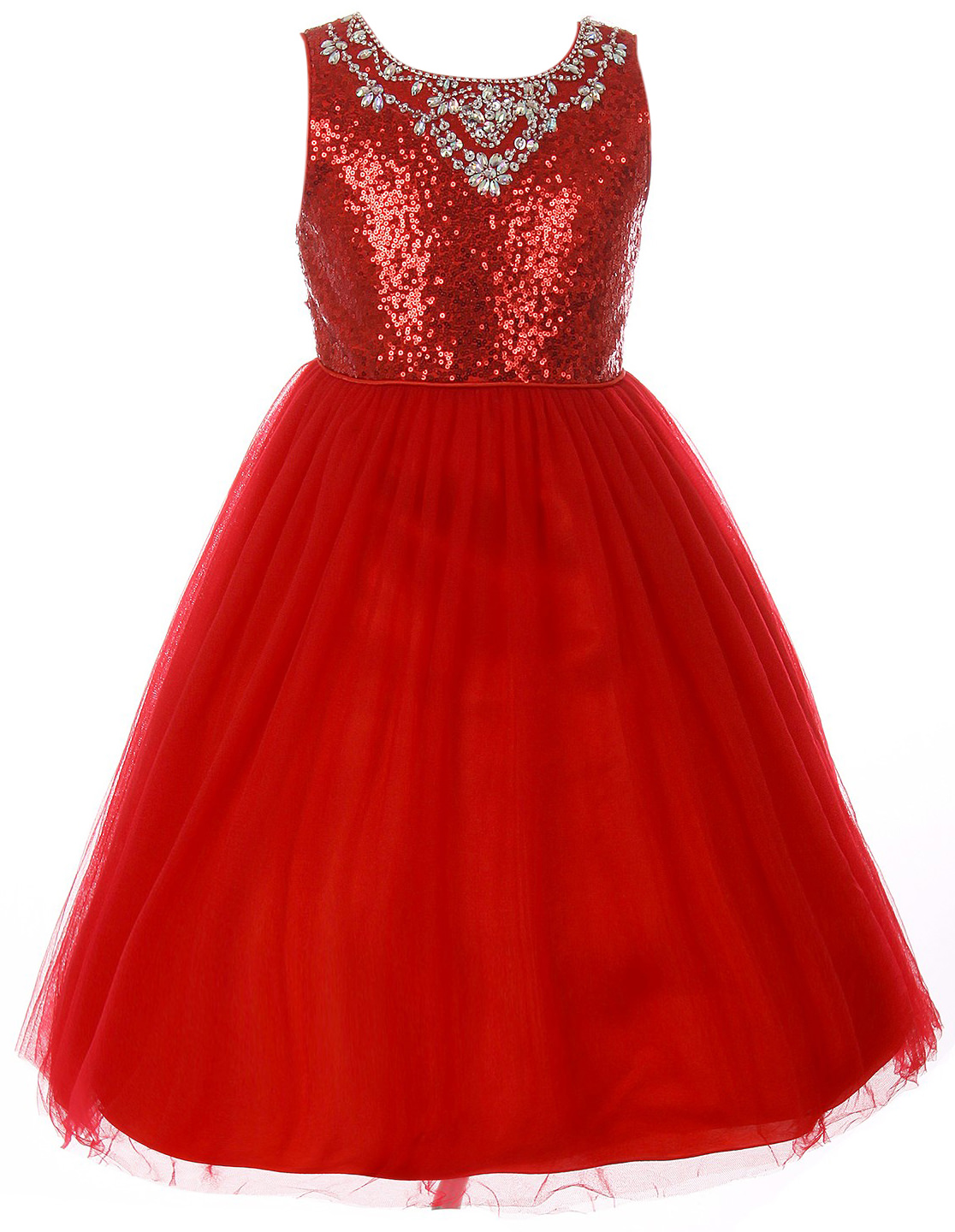 8ee3602e38d6 Dreamer P - Little Girls Dress Sparkle Sequin Tulle Holiday Pageant ...