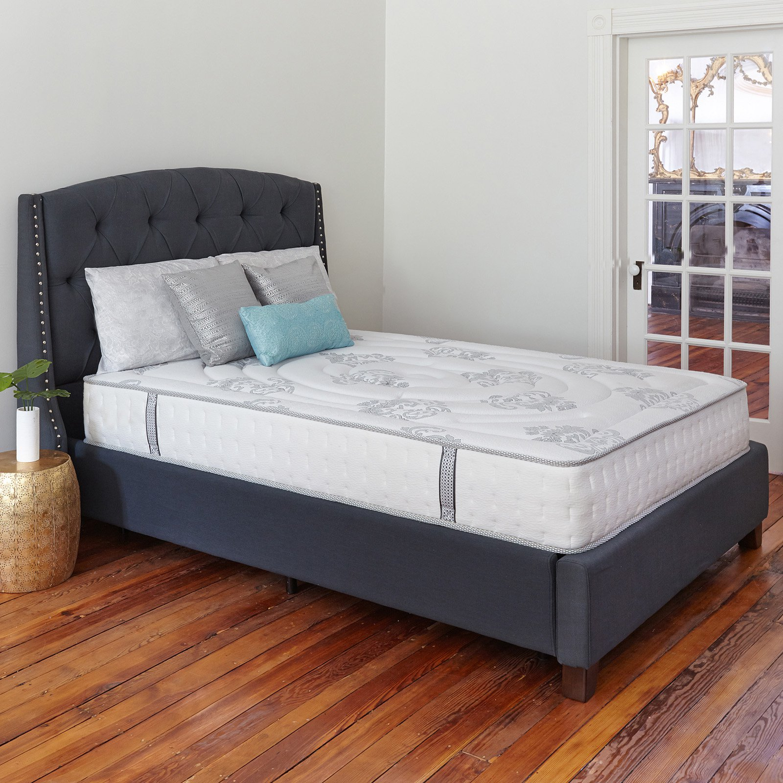 Classic Brands Decker 10.5 in. Firm Hybrid Memory Foam and Innerspring Mattress by Classic Brands