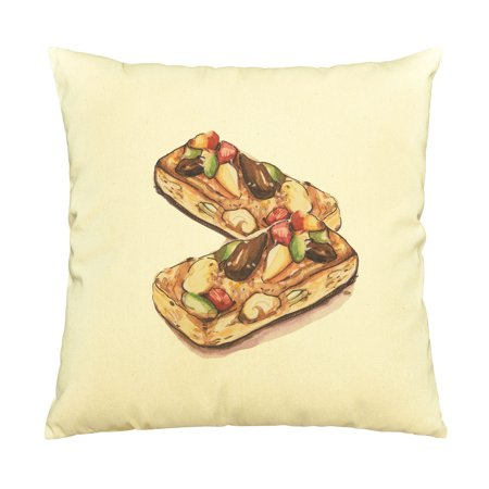 Desserts 5 Printed Cotton Decorative Pillows Cover Cushion Case VPLC_03