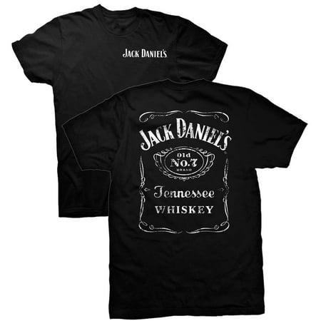 Jack Daniels Double Sided Black Tee Shirt](Jack Daniels Halloween)