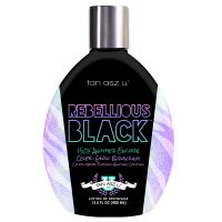 Rebellious Black Tanning Lotion with Celeb-Glow Bronzers. 13.5 fl oz