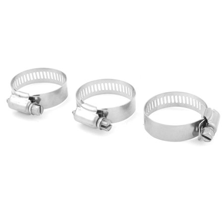 Release Worm (Unique Bargains 3 x Bolt Release 21mm to 38mm Worm Drive Hose Clamps Pipe Hoops)