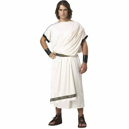 Deluxe Classic Toga Adult Halloween - Party City Toga