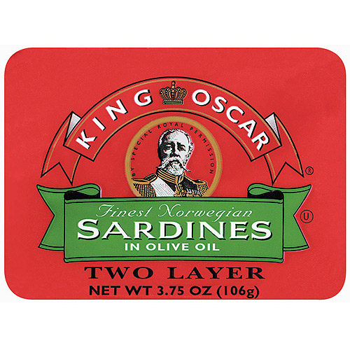 King Oscar In Olive Oil Two Layer Sardines, 3.75 oz