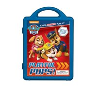 Nickelodeon PAW Patrol: Playful Pups!: Book & Magnetic Play Set