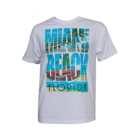 Best Beaches Florida - Mens Short-Sleeve Miami Beach Florida T-Shirt