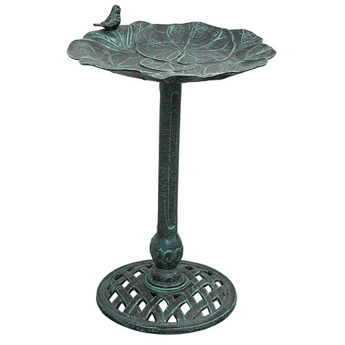 Innova Hearth and Home Lily Pad II Birdbath