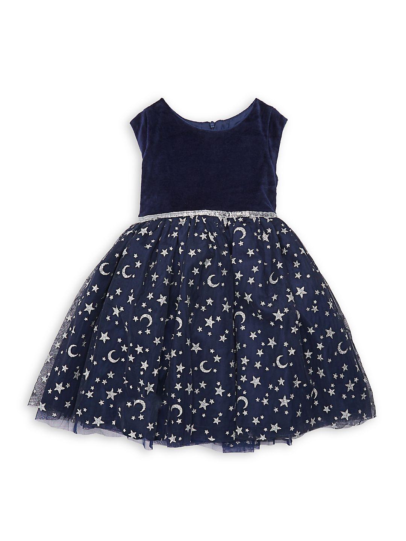 Little Girl's Taylor Printed Dress