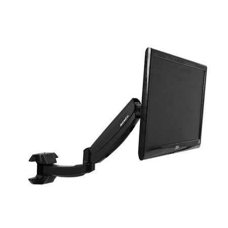 FLEXIMOUNTS-M09-Full-Motion-LCD-arm-Computer-Monitor-wall-Mount-for-most-10-24-inch-flat-panels-screen-with-Swivel-Gas-Spring-monitor-arm-for-den