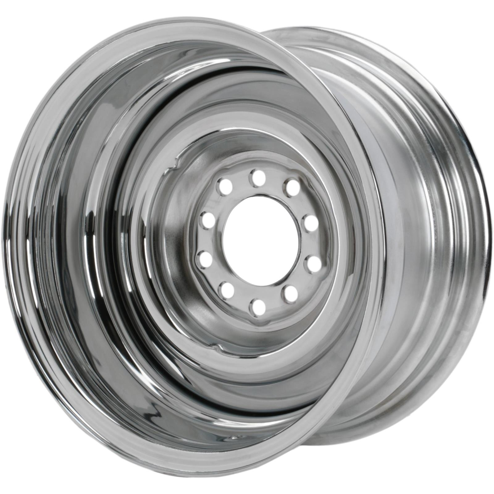 Speedway Smoothie Reverse 14x7  Steel Wheel, 5on4.5/4.75, 2.5 BS