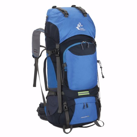 8f7fd2befc Free Knight 60L Hiking Backpack Mountaineering Camping Trekking Travel Bag  Large Capacity Rucksack Internal Frame Water Resistant for Outdoor -  Walmart.com