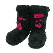 Minx NY  Fuzzy Slipper Sock with Phone Pocket