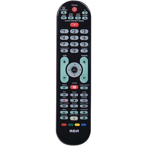 RCA RCRPS06GR One for All 6-Device Universal Remote