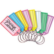 MMF, MMF201400747, Multi-colored Key Tag Replacements, 4 / Pack, Assorted