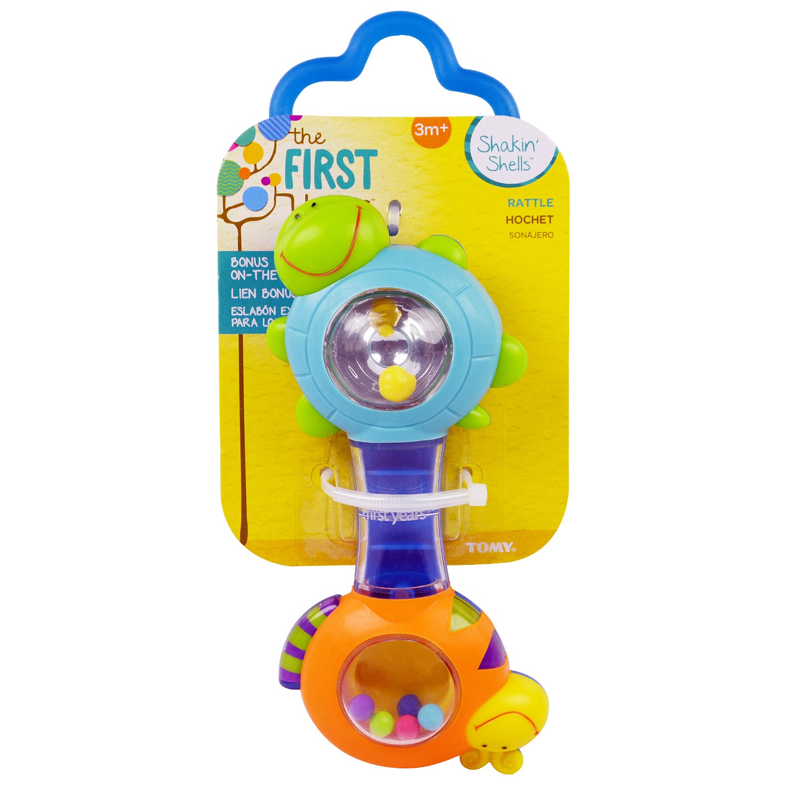 The First Years, Shakin' Shells, Rattle, 3 + Months, 1 Rattle(pack of 3) by The First Years